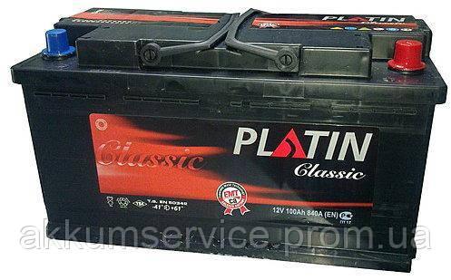 Аккумулятор автомобильный Platin Classic 100AH R+ 920A