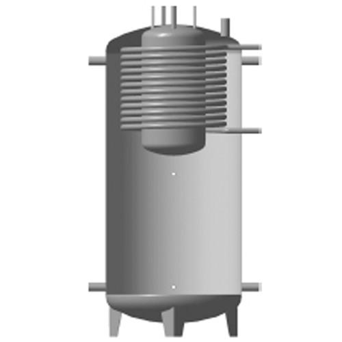 Теплоемкости КНТ EAB с бойлером и верхним теплообменником