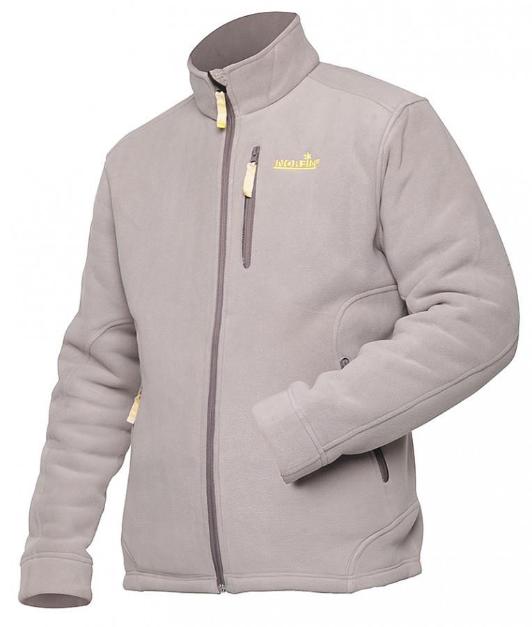 Куртка флисовая NORFIN NORTH (light gray) (47600)