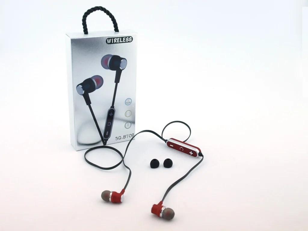 Бездротові Bluetooth-навушники, гарнітура SQ-BT08