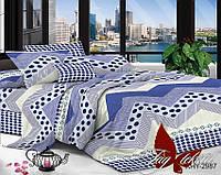 ✅ Двуспальный комплект постельного белья (Поликоттон) TAG XHY2987