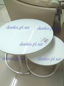 Комплект журнальных столов CS-25 белый от Vetro Mebel