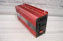 Инвертор 12/220 с LCD дисплеем 1000W Преобразователь Напряжения AC/DC UKC KC-1000D, фото 10