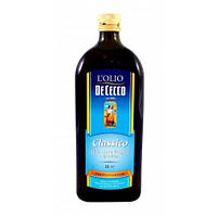 Масло оливковое PIACERE Extra Vergine De Cecco LOLIO Италия 1л