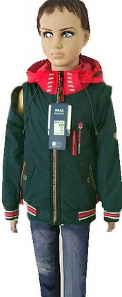 Куртка съемный рукав  3-7 лет, фото 2