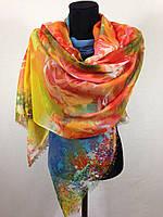 Женский широкий шарф (цв 1)