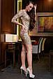 Платье 1275.3895 золото (S, M, L, XL), фото 2