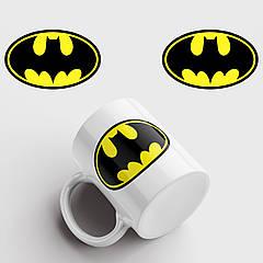 Чашка з принтом Batman. Бетмен. Чашка з фото