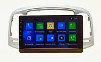Автомагнитола штатная Hyundai Accent 2006-2009 Android 10.1 CPU T3 4/32 Gb