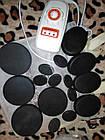 Камни Базальтовые  для массажа спа spa с сумкой для подогрева, фото 2