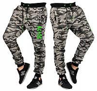 Спортивні штани чоловічі 5095. Розміри: M, L, XL, XXL. Колір: темно-сірий, зелений, сірий