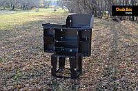 Chuck Box туристическая мобильная кухня раскладная для кемпинга органайзер для охоты рыбалки складная для авто