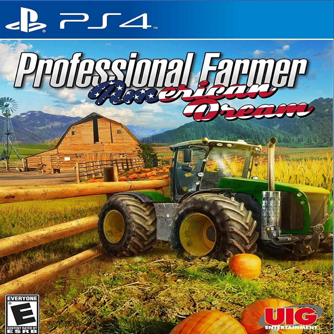 Professional Farmer American Dream (английская версия) PS4
