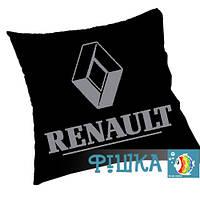 Renault подушка с логотипом
