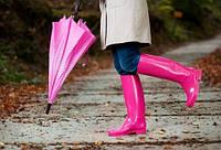 Женские резиновые сапоги и ботиночки