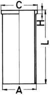 3620110110 MERCEDES-BENZ Гильза (OM314/OM352)