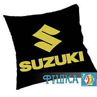 Подушка с логотипом SUZUKI, фото 1