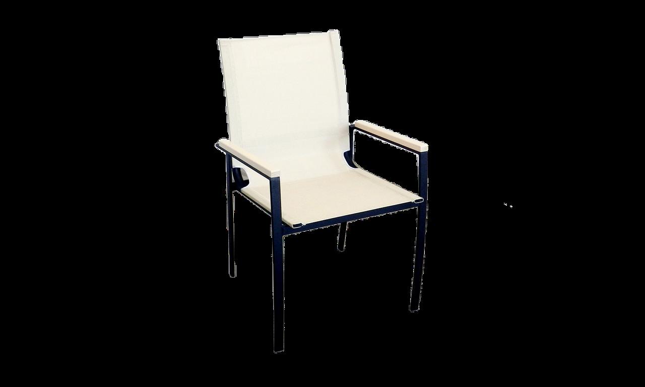 """Кресло для кафе Микс-Лайн """"Львов"""" слоновая кость"""