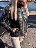 ДЕМИСЕЗОННАЯ ЖЕНСКАЯ КОРОТКАЯ КУРТКА (4расцв) 42-48р., фото 10