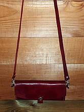 """Женская клач-сумочка из итальянской кожи """"XXI век"""""""