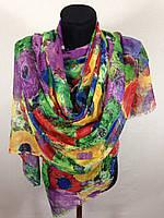 Стильный широкий шарф (цв 3)