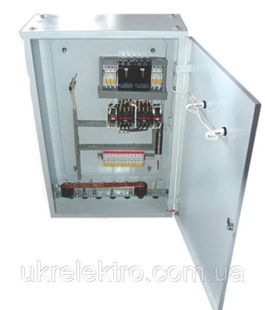 Устройства автоматического ввода резерва типа АВР 125А ІР 54