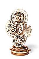 Механічні 3-D пазли UGEARS конструктор Стімпанк-годинничок / Механические 3d пазлы Югирс, модель Стимпанк-часы