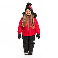 Зимний комплект для девочки NANO F19M260 Girlie Red / Black