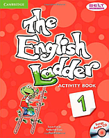 Рабочая тетрадь The English Ladder 1 Activity Book with Songs Audio CD