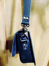 Женская кожаная сумочка ручной работы   ''Итальянка '' (с ремешком), фото 2