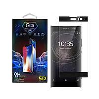 Защитное стекло Premium Glass 5D Side Glue для Sony Xperia XA2 Black