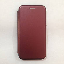 Чехол-книжка Samsung Galaxy J320 Level Marsala