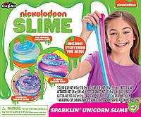 Набор для создания слайма слайм Слизь лизун Cra-Z-Art Nickelodeon Ultimate DIY Unicorn Arts  rafts Slime