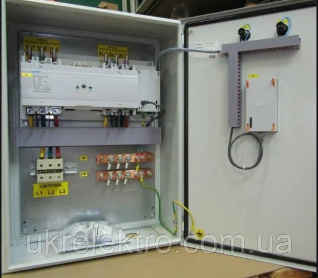 Устройства автоматического ввода резерва типа АВР 100 ІР 54