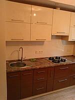 Кухня с двойными полками, фото 1