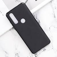 Чехол Soft Line для Motorola One Action (XT2013-2) силикон бампер черный