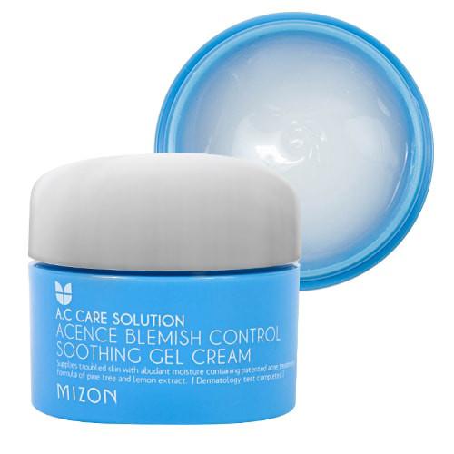 Крем для проблемной кожи с салициловой кислотой Mizon Acence Blemish Control Soothing gel cream
