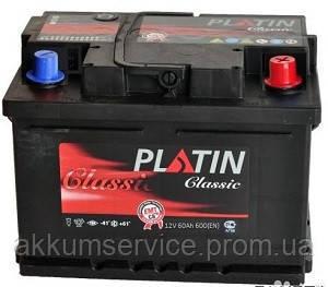 Аккумулятор автомобильный Platin Classic 55AH R+ 520A