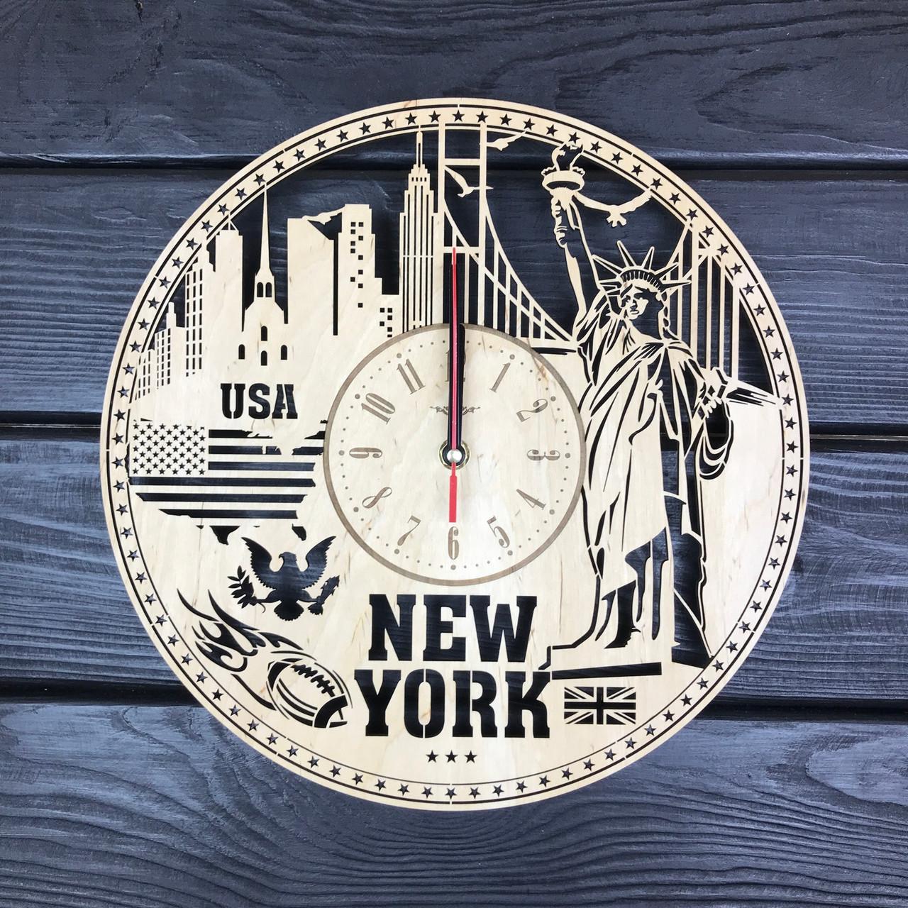 Интерьерные часы на стену «Нью-Йорк»