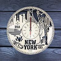 Интерьерные часы на стену «Нью-Йорк», фото 1