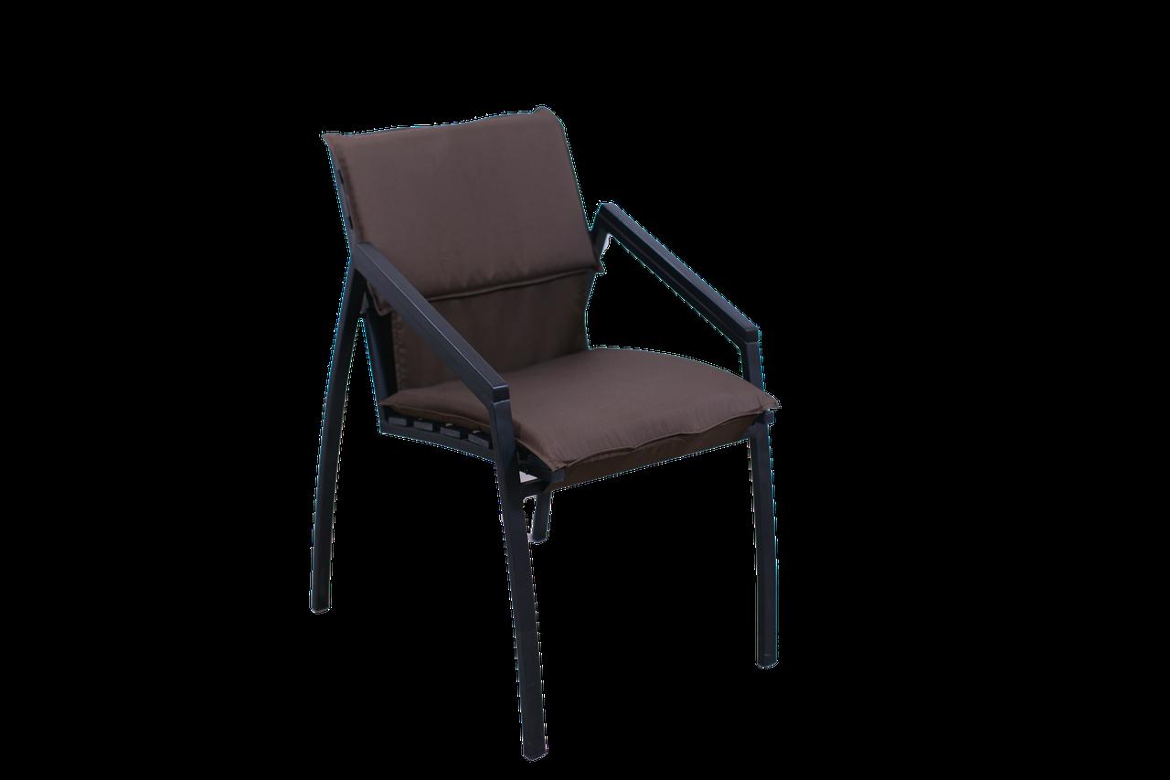 """Кресло для кафе Микс-Лайн """"Парма Люкс"""" Венге(Темный шоколад)"""