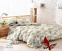 ✅ Двуспальный комплект постельного белья (Поплин) TAG TM-5004Z