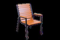 """Кресло для кафе Микс-Лайн """"Таи"""" Венге(темный шоколад), фото 1"""