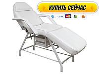 Кушетка для наращивания ресниц стационарная механическая ящиками/лотками кресло-кушетка для салона 262
