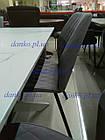 Обідній стілець М-40 сірий від Vetro Mebel у тканини, фото 4