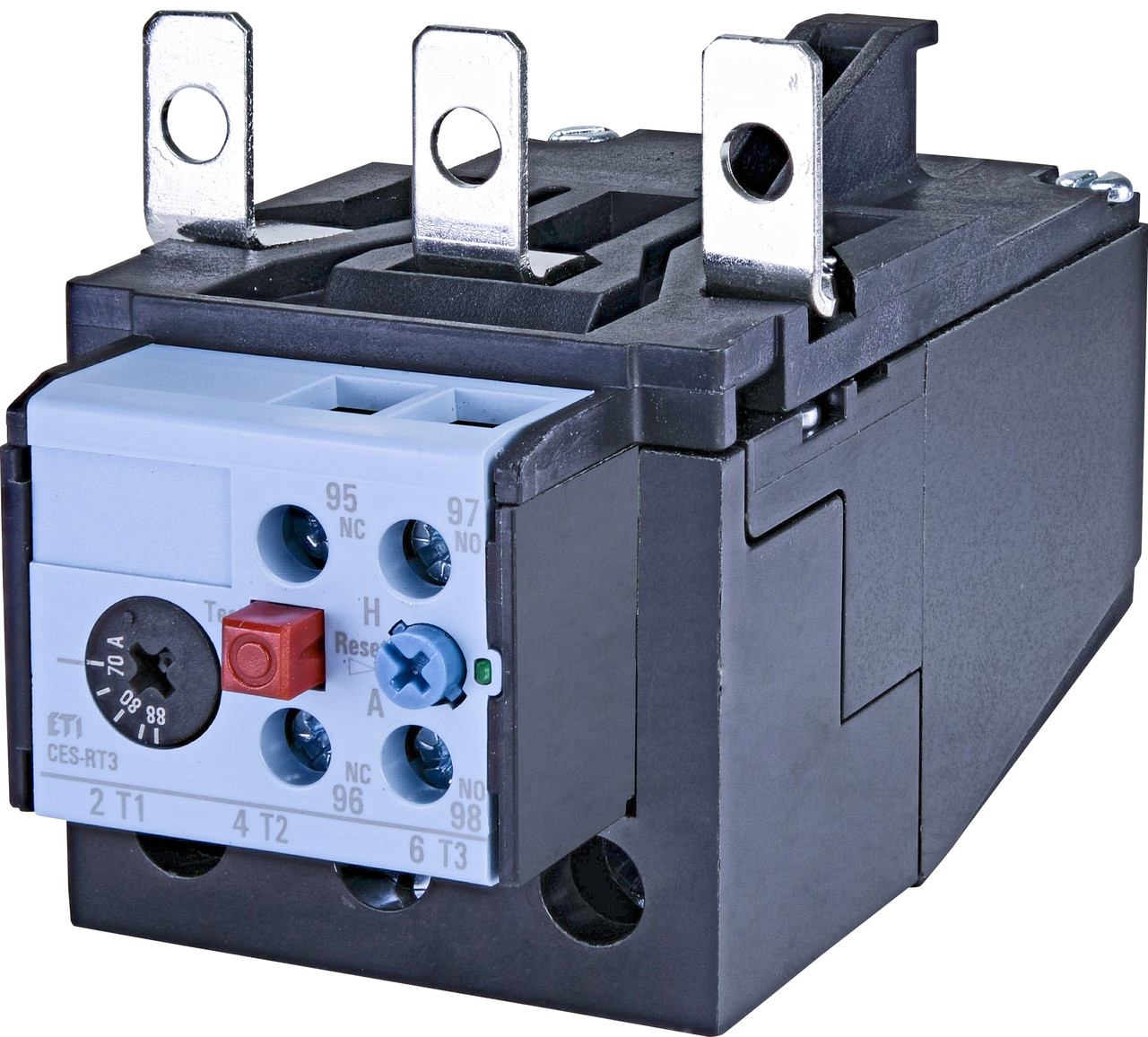 Тепловое реле ETI CES-RT3-88 (70-88A) CES65-CES105 4646604 (для контакторов CES65, CES105)
