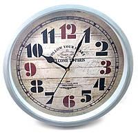 Часы настенные (d-30 см h-4.5 см)