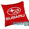 Подушка с логотипом SUBARU