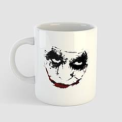 Кружка з принтом Joker. Джокер. Чашка з фото