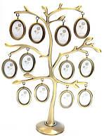 """Фоторамка """"Родовое дерево"""" (12 фото)(27,5х20,5х7 см)"""